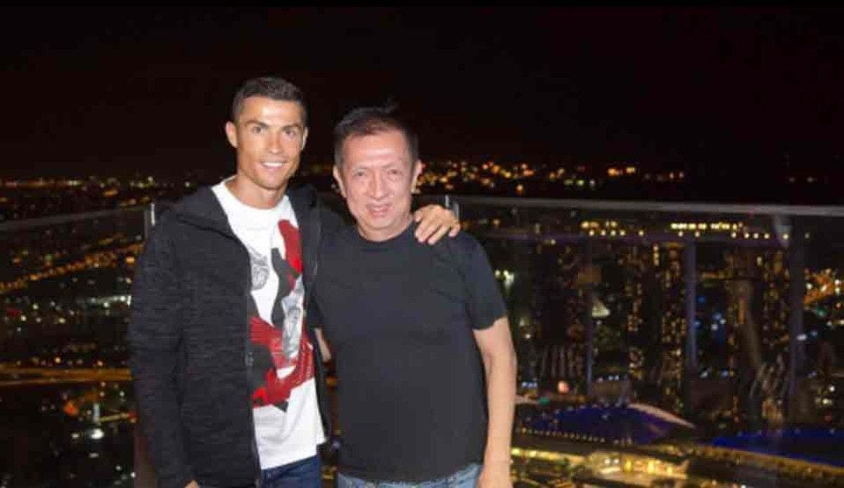 Cristiano Ronaldo Peter Limb