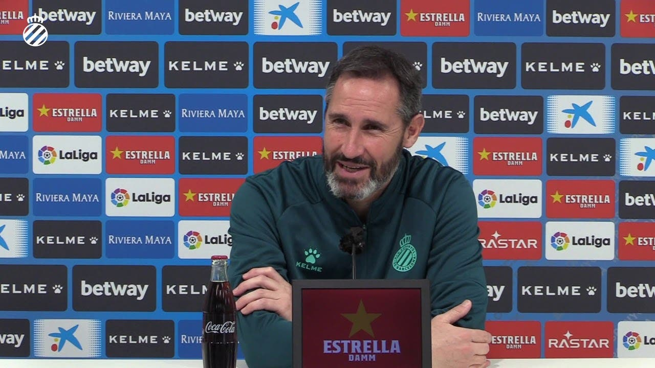 Espanyol Vicente Moreno