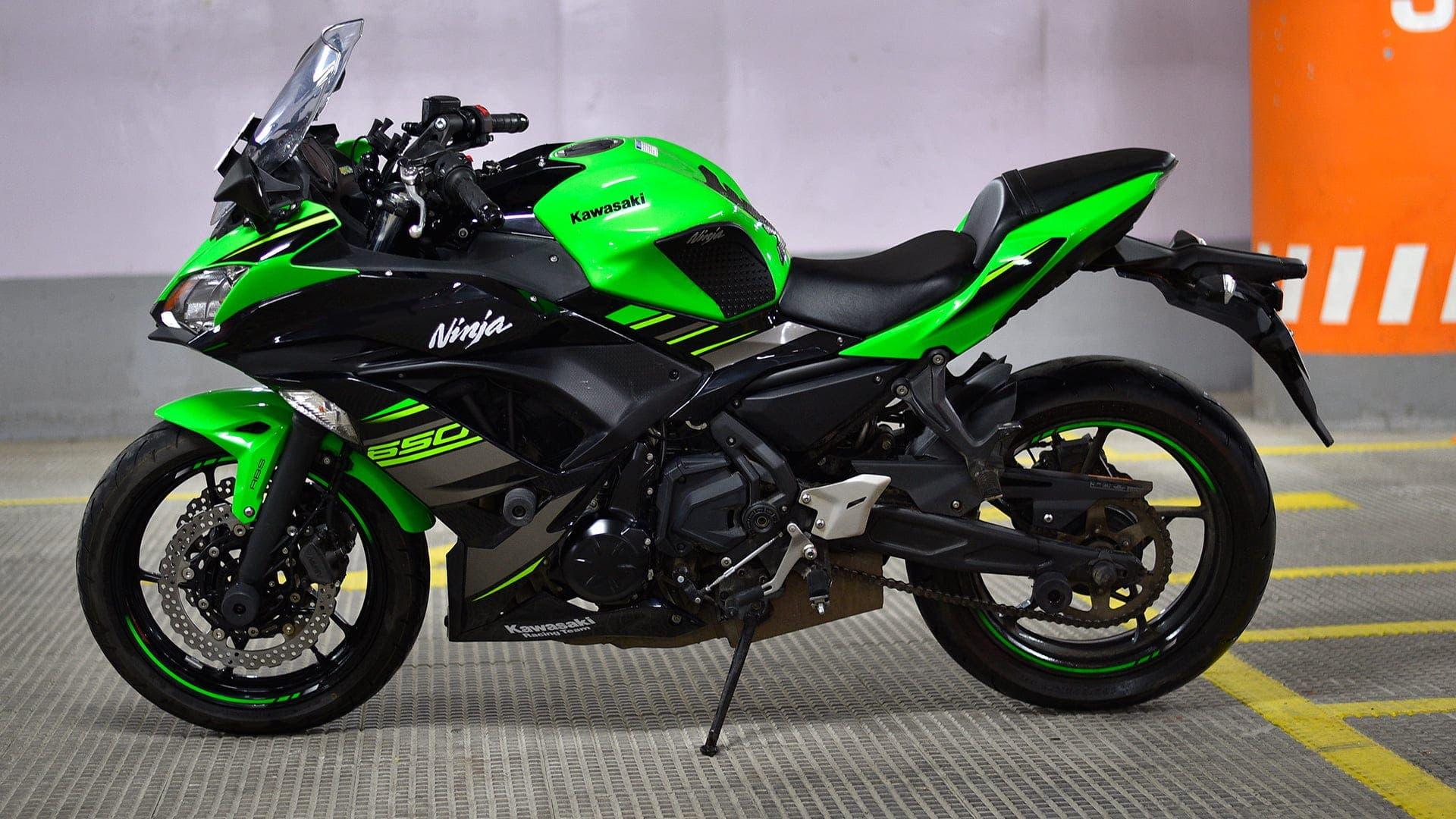 Comparativa Kawasaki Ninja 650 2020 - Kawasaki Ninja ZX-6R
