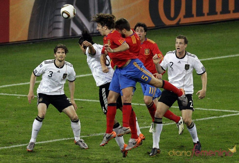 España ha sido verdugo de los germanos los últimos años.