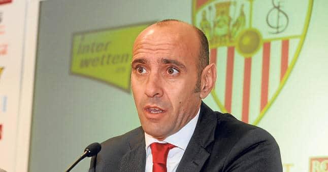 Monchi, director deportivo del Sevilla / Agencias