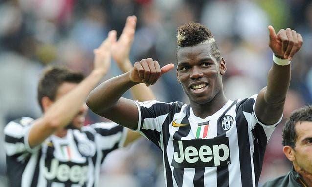 Pogba celebrando una victoria de la Juventus / Agencias