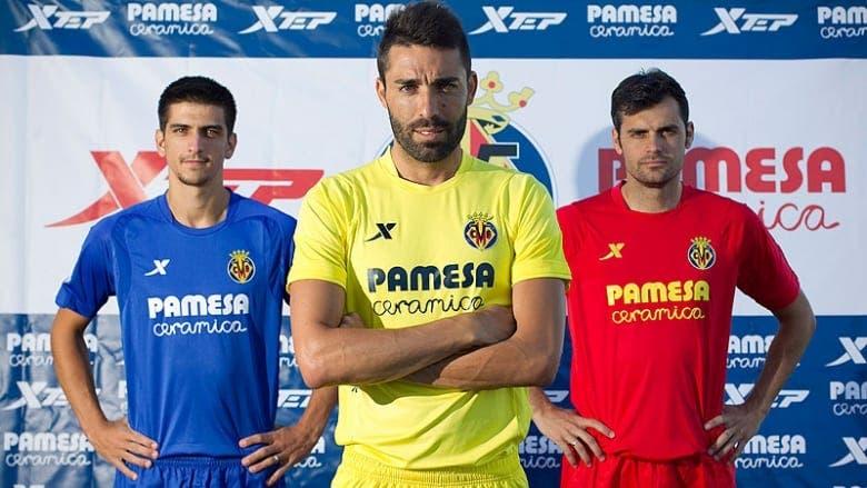 Presentadas las nuevas equipaciones del Villarreal CF
