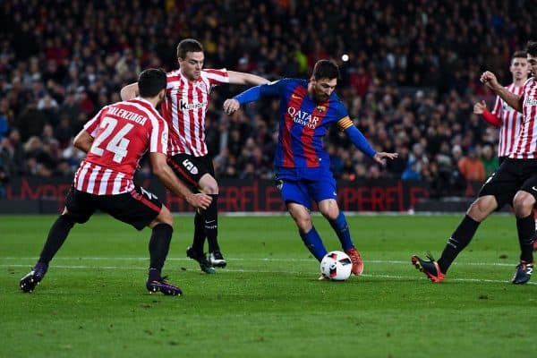 Alineación Barcelona - Athletic - Jornada 7 Liga Santander