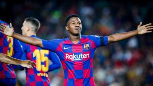 El FC Barcelona deja escapar a Ansu Fati (Messi pide explicaciones)
