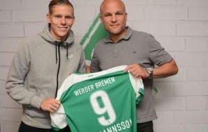 Aron Johannsson / Twitter Werder Bremen