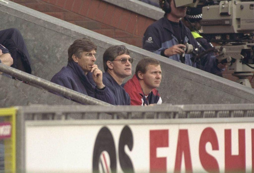 Arsene Wenger en sus inicios. Foto: Agencias.