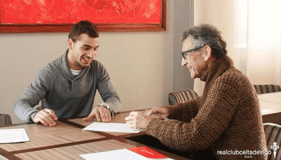 Jonny Castro renueva con el Celta / Agencias