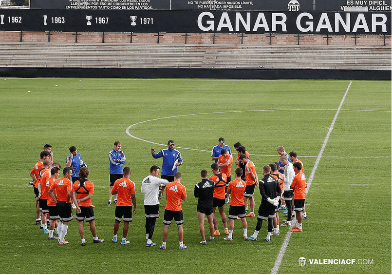 Las instalaciones deportivas del Valencia CF
