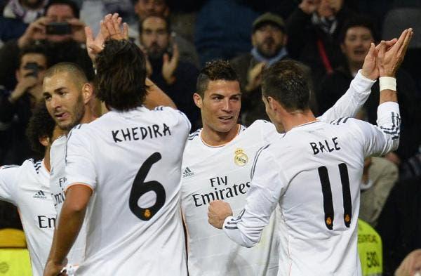 Cristiano Ronaldo, Karim Benzema, Gareth Bale, Sami Khedira