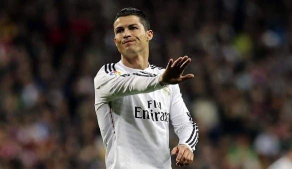 Cristiano Ronaldo molesto