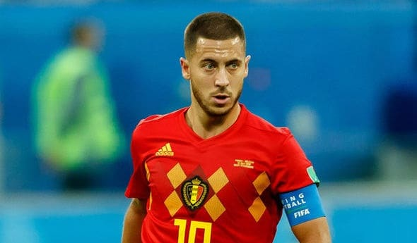 Eden Hazard al Real Madrid