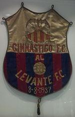 Escudo de los dos clubes de los que proviene el actual Levante UD