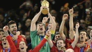 España podría entrar en la historia de los Mundiales si gana en Brasil 2014. Foto: Agencias.