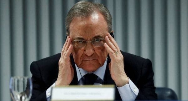 Florentino Pérez conferencia de prensa