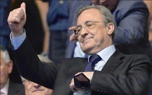 Florentino Pérez lista de fichajes al Madrid