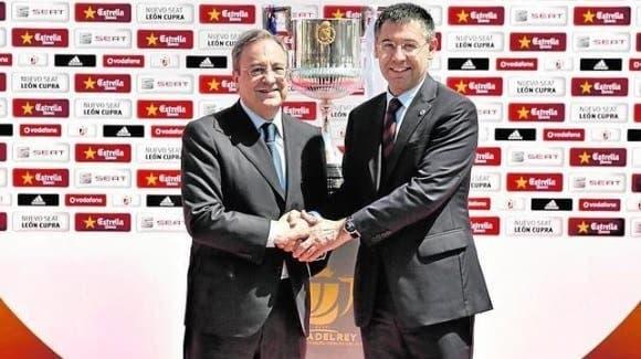 Florentino Pérez y Josep Bartomeu
