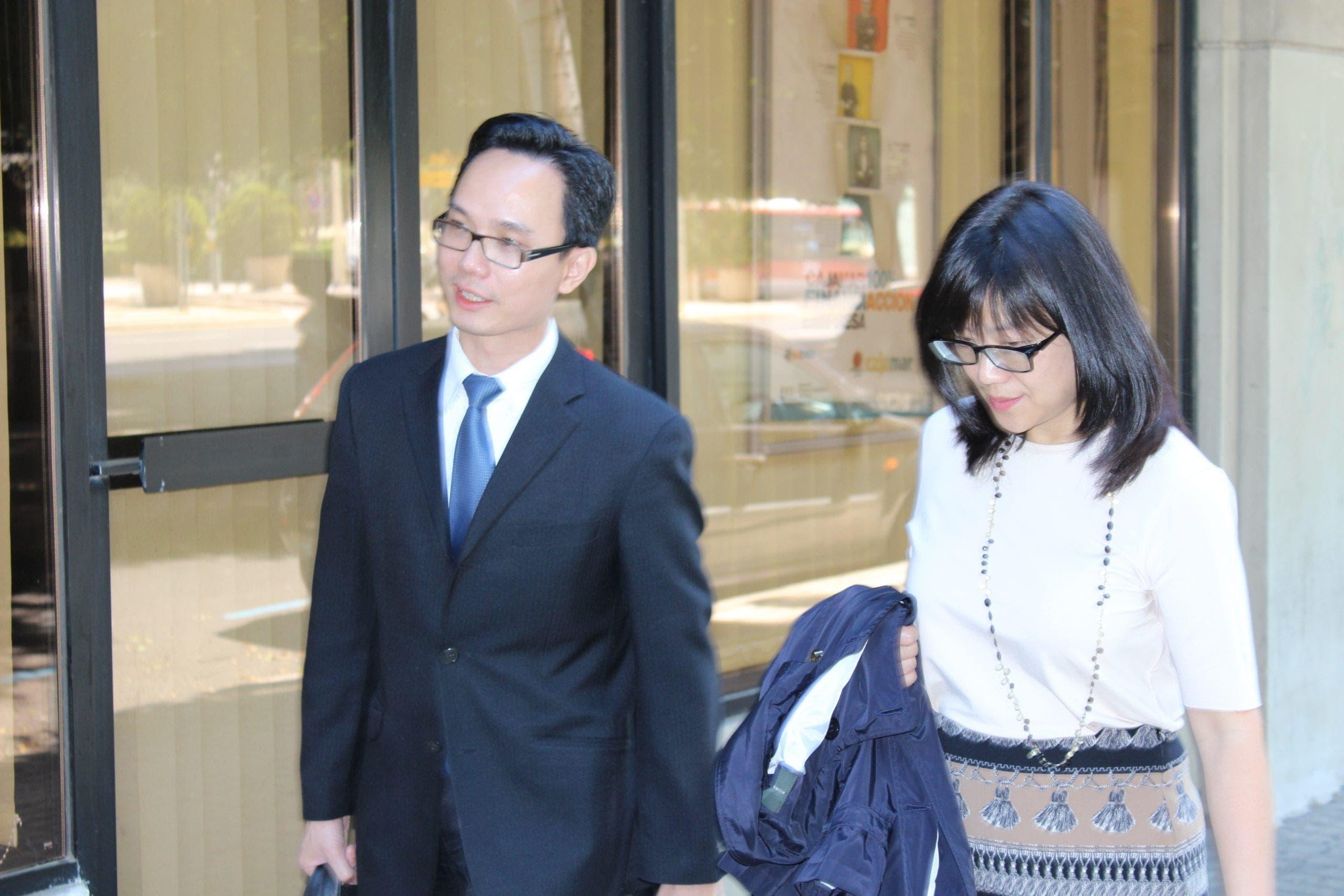 Lay Hoon durante las negociaciones con Bankia