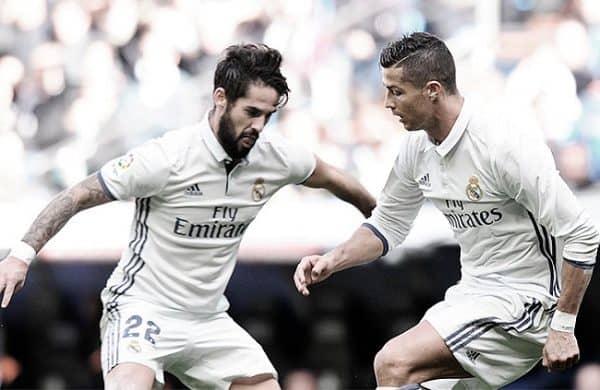 Isco y Cristiano Ronaldo