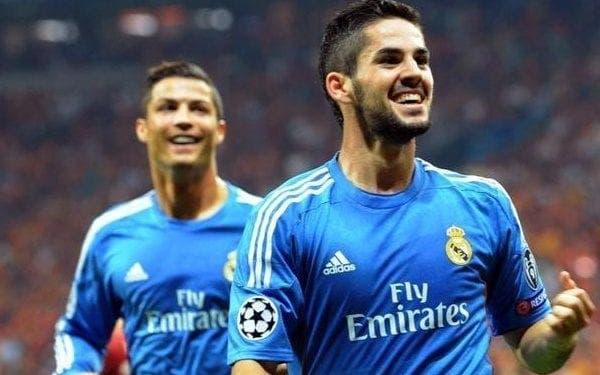 Isco y Ronaldo