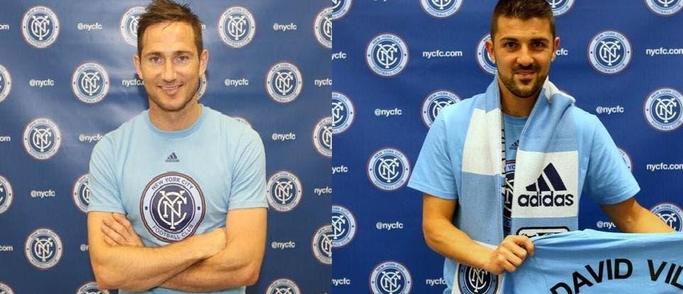 Lampard o Villa aterrizan este curso en la MSL.