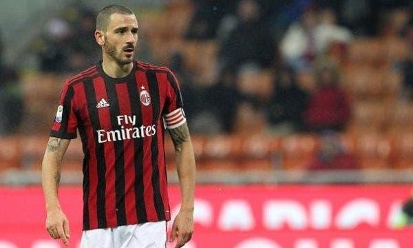 Leonardo Bonucci con el Milán