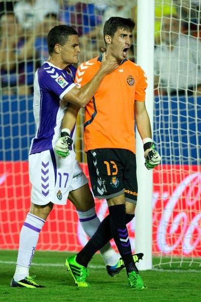 Diego Mariño en las filas del Real Valladolid