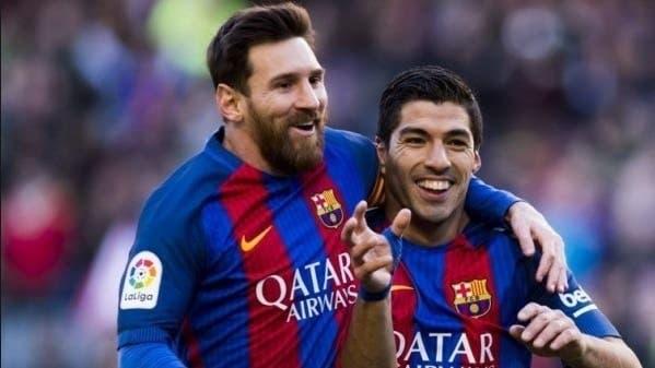 Luis Suarez y Lio Messi