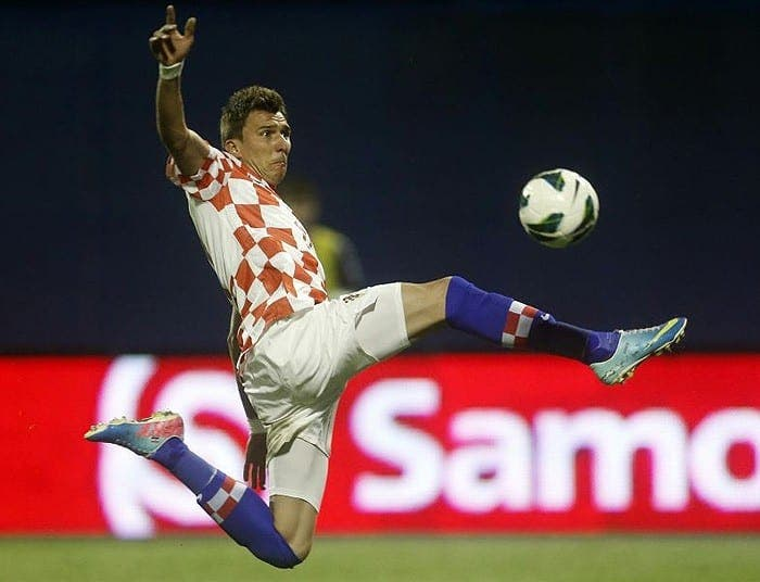 Mandzukic está en el punto de mira de muchos equipos europeos. Foto: The Telegraph.