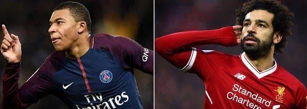 Mbappe y Salah posibles del Barcelona