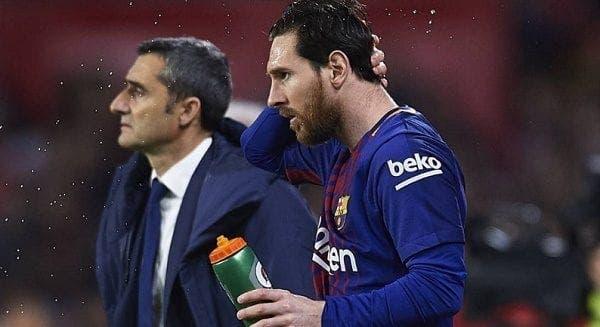 Messi y su titular para el Barcelona