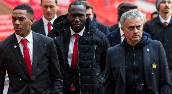 Mourinho con el United