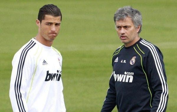 Mourinho y Ronaldo