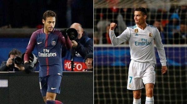 Neymar y CR7