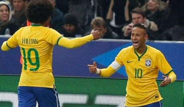Neymar y William