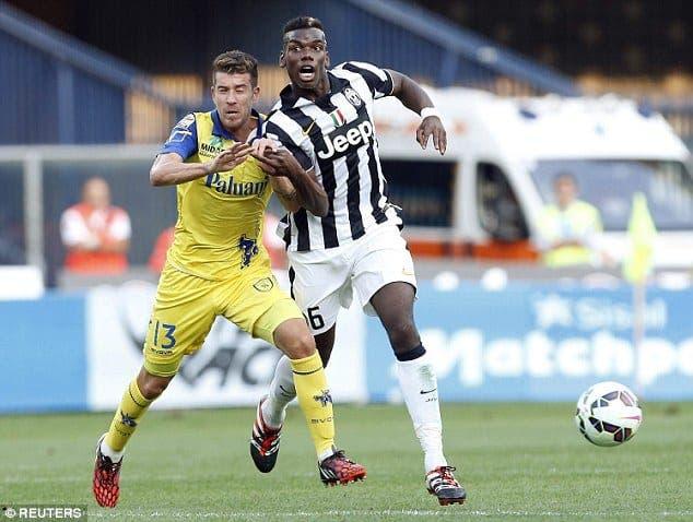 Paul Pogba no es de los mejor pagados de la Serie A pese a ser de los mejores en el torneo italiano. Foto: Agencias.