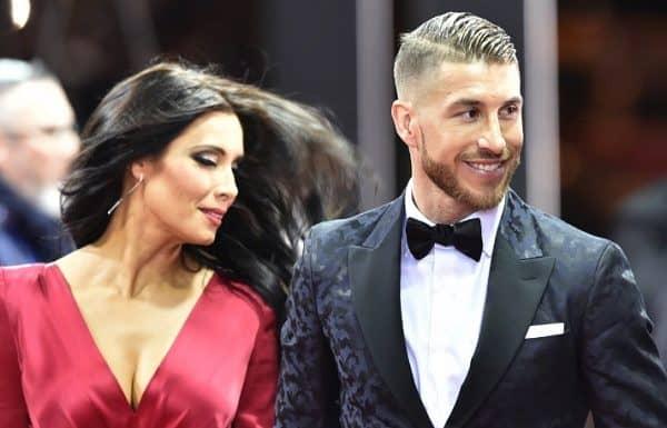 Pilar Rubio con Sergio Ramos