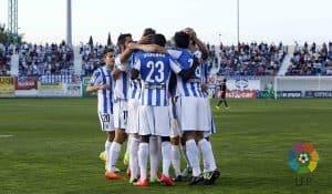 Plantilla CD Leganés para la 2019