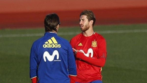 Ramos y Lopetegui
