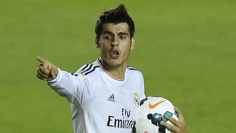 Alvaro Morata podría salir del Real Madrid /Agencias
