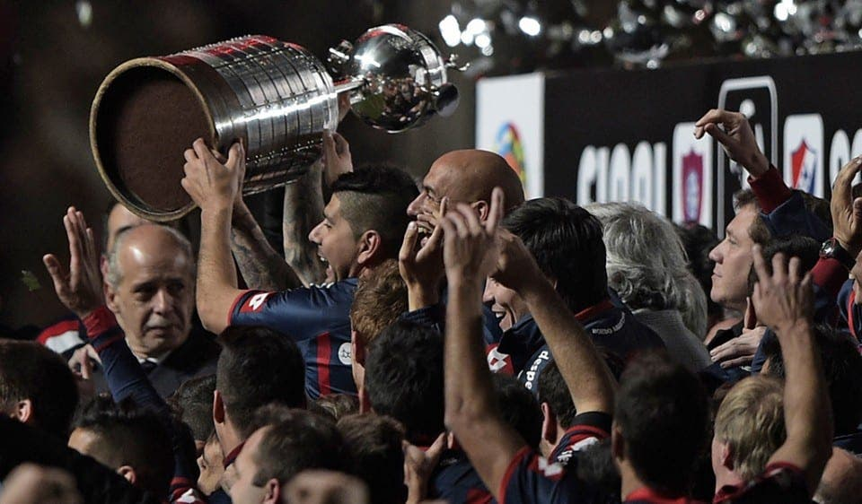 San Lorenzo campeón de la libertadores por primera vez en 106 años de historia.
