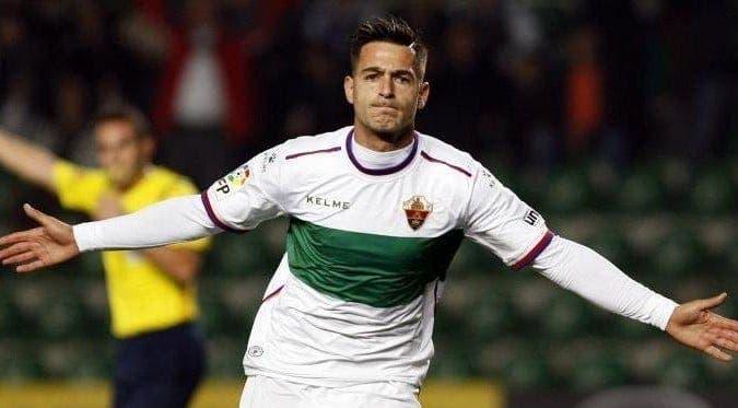 Sergio León tras marcar un gol / Agencias