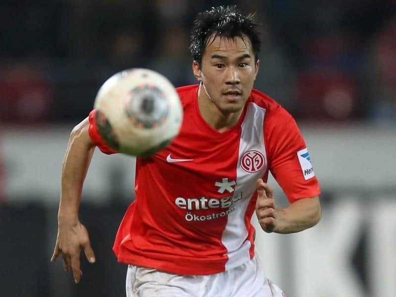 Shinji Okazaki, Mainz 05. Foto: Agencias.