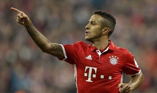 Thiago Alcántara jugador del Bayer
