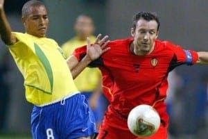 Marc Wilmots jugó los Mundiales de 1990, 1994, 1998 y 2002. El actual seleccionador es todo un mito del fútbol belga. Foto: Agencias.