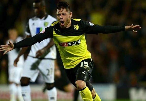 Acuña quiere cambiar el amarillo del Watford por el rojo de Osasuna. Foto: Agencias