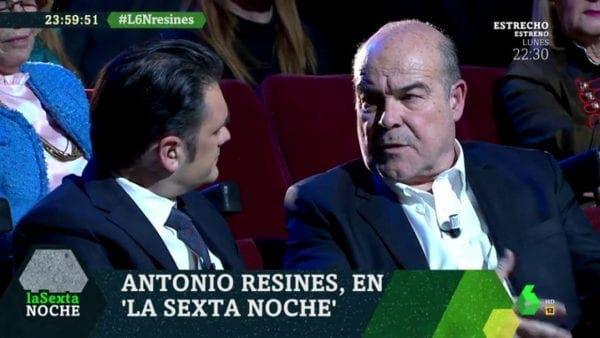Antonio Resines el Hormiguero