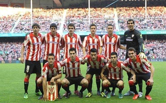 El Athletic de Bilbao clasificado para la Champions no tiene ningún jugador en Brasil 2014. Foto: Agencias.