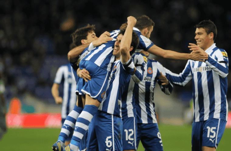 Jugadores del Espanyol celebrando un gol / Agencias