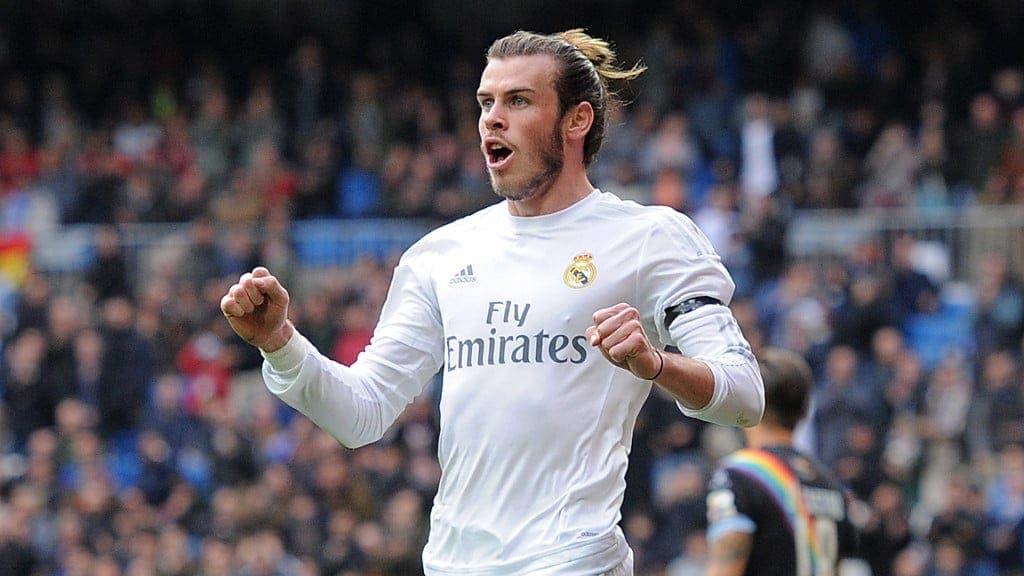 Bale con el Real Madrid